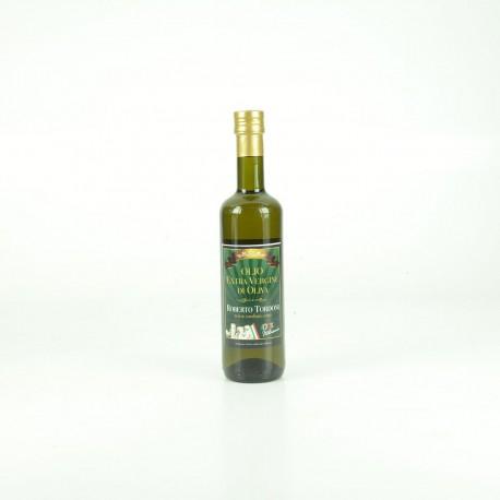 Olio bottiglia da lt 0,500 filtrato